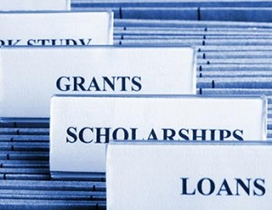 files of grants and scholarships